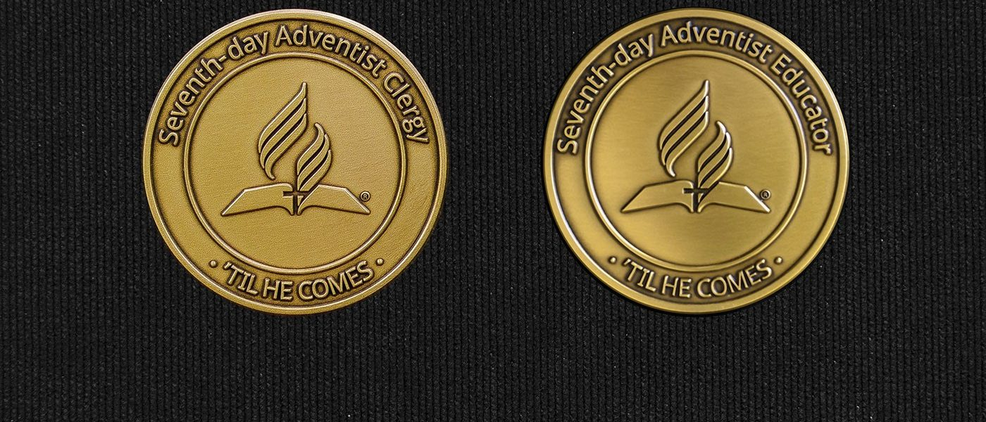 Special Memorial Medallions Honor Service of Seventh-day Adventists