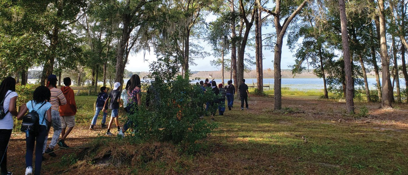 Students Answer Call for Baptism During Outdoor School