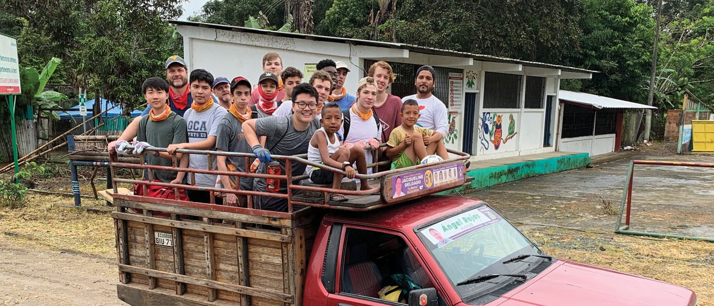 GCA Students Help in Arizona, Ecuador