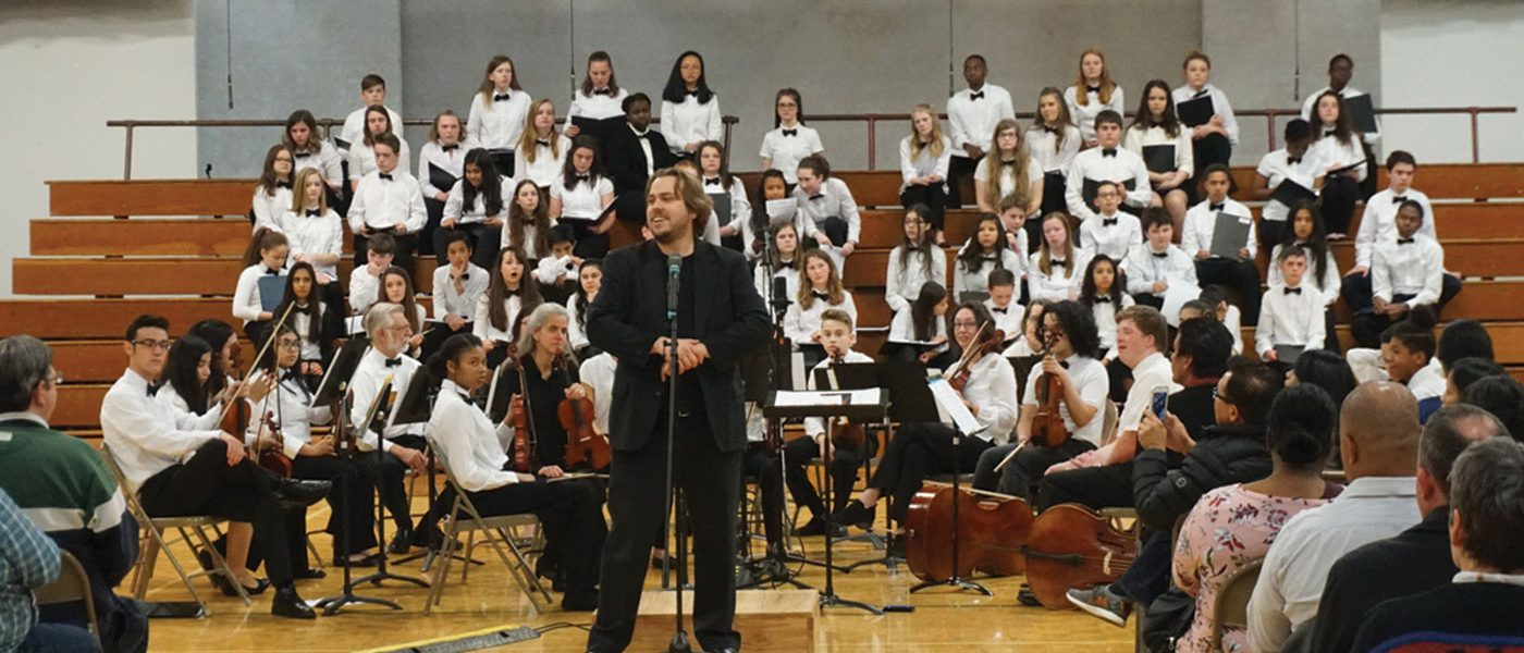"Annual Music Festival Participants Perform Commissioned Piece: ""Sing Alleluia"""