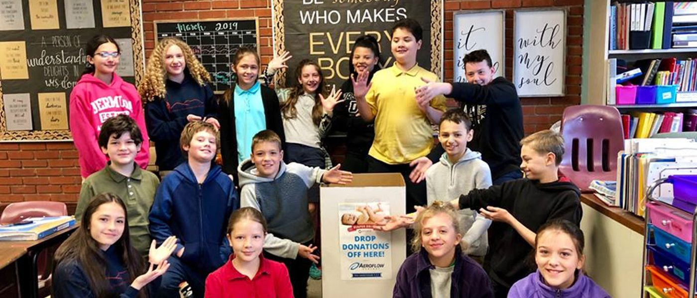 APCS Fifth- and Sixth-graders Give Back to Community