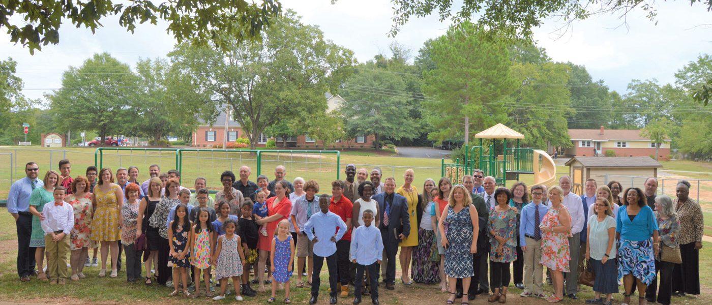 Spartanburg Members Dedicate $60K Playground