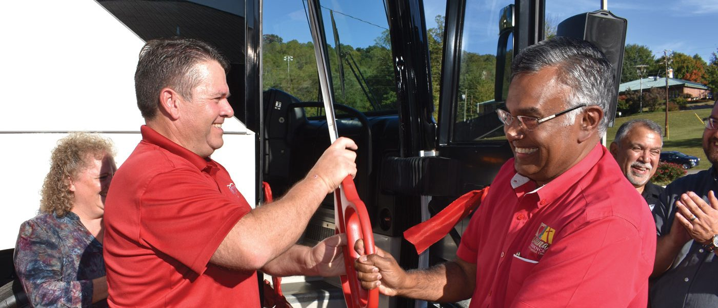 Mount Pisgah Academy Purchases a New Bus