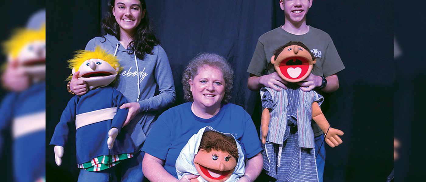 Mount Pisgah Academy Creative Puppet Team Assists with International VBS