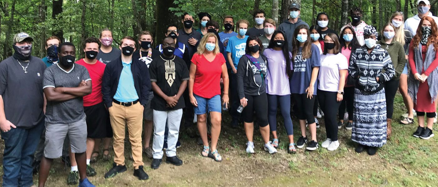 Retreat Blends Academy, College Students
