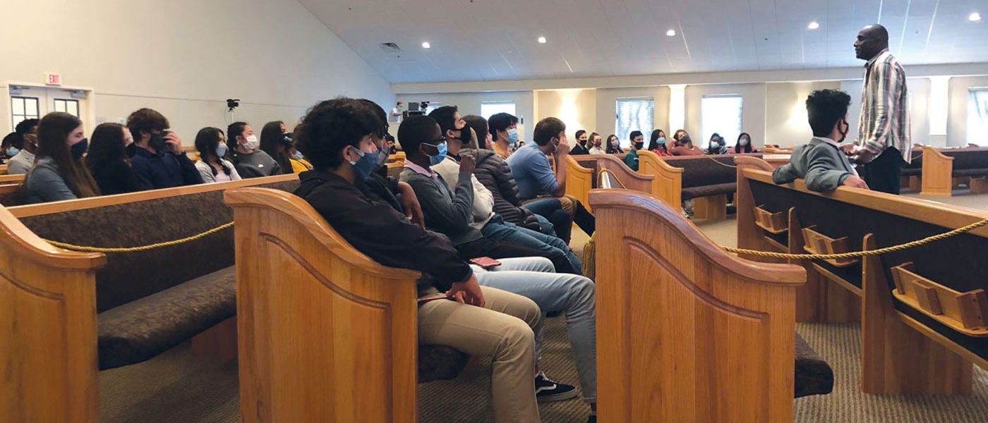 """Civil Conversations on Race"" Held for Conference Academy Students"