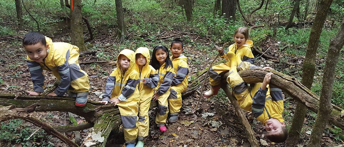 HIGHLAND ELEMENTARY HOLDS FOREST KINDERGARTEN