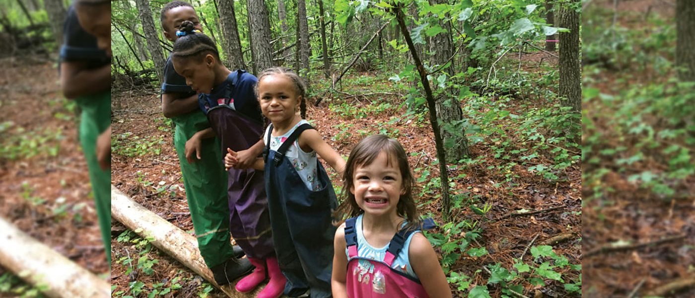 DOUGLASVILLE SCHOOL CONDUCTS KIDS FOREST CAMP